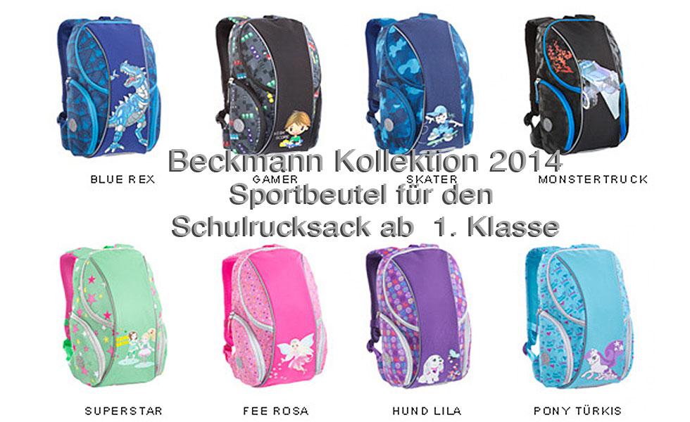Beckmann Sportbeutel ab 1. Klasse Kollektion 2014